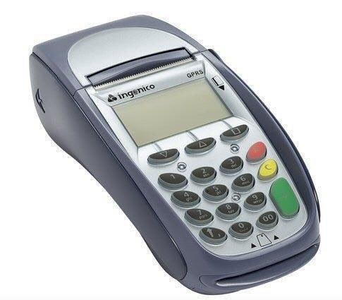تصویر دستگاه کارتخوان-پوز بانکی سیار Ingenico 7910 Pos