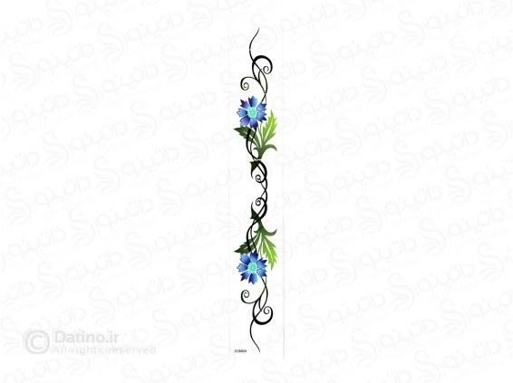 تاتو موقت  شاخه گل زیبای اورالیتا 10250