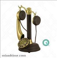 تصویر تلفن فلزی مایر سبک قدیمی کد 1916