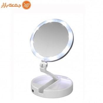 آینه آرایشی Foldaway مدل چراغ دار |
