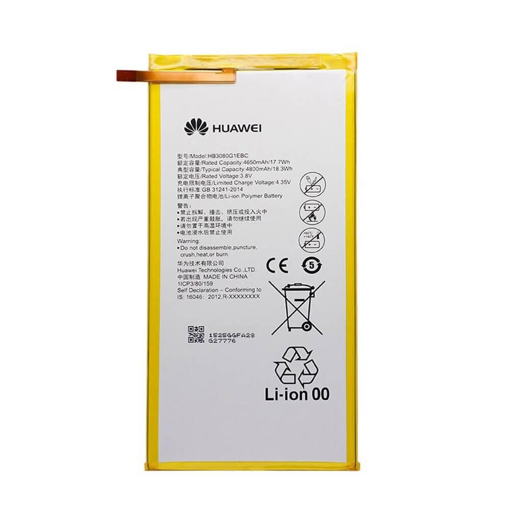 تصویر باتری هوآوی Huawei MediaPad M1 مدل HB3080G1EBC battery Huawei MediaPad M1 model HB3080G1EBC