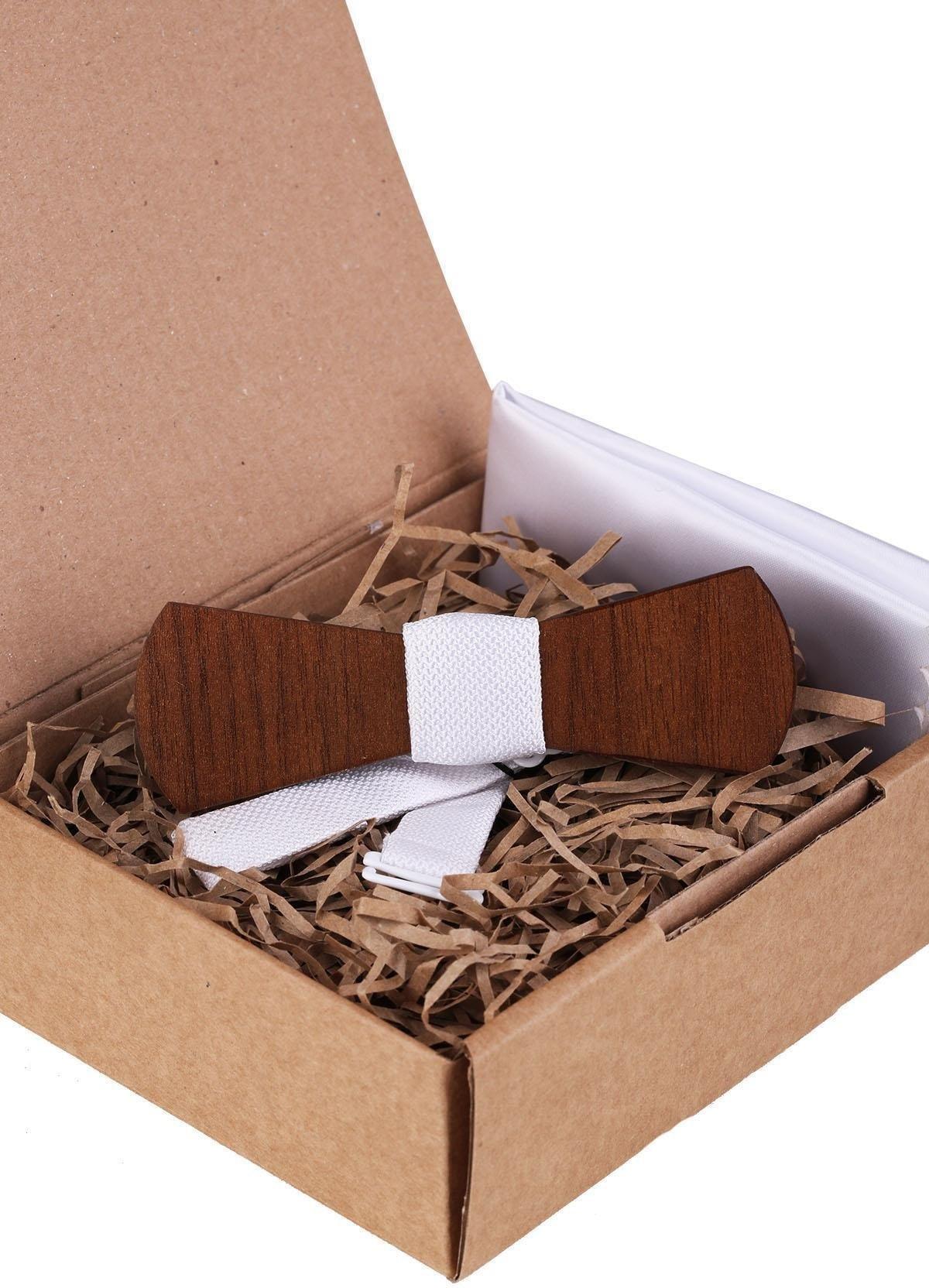 عکس پاپیون چوب سفید برند Kravatkolik کد 1600575482  پاپیون-چوب-سفید-برند-kravatkolik-کد-1600575482