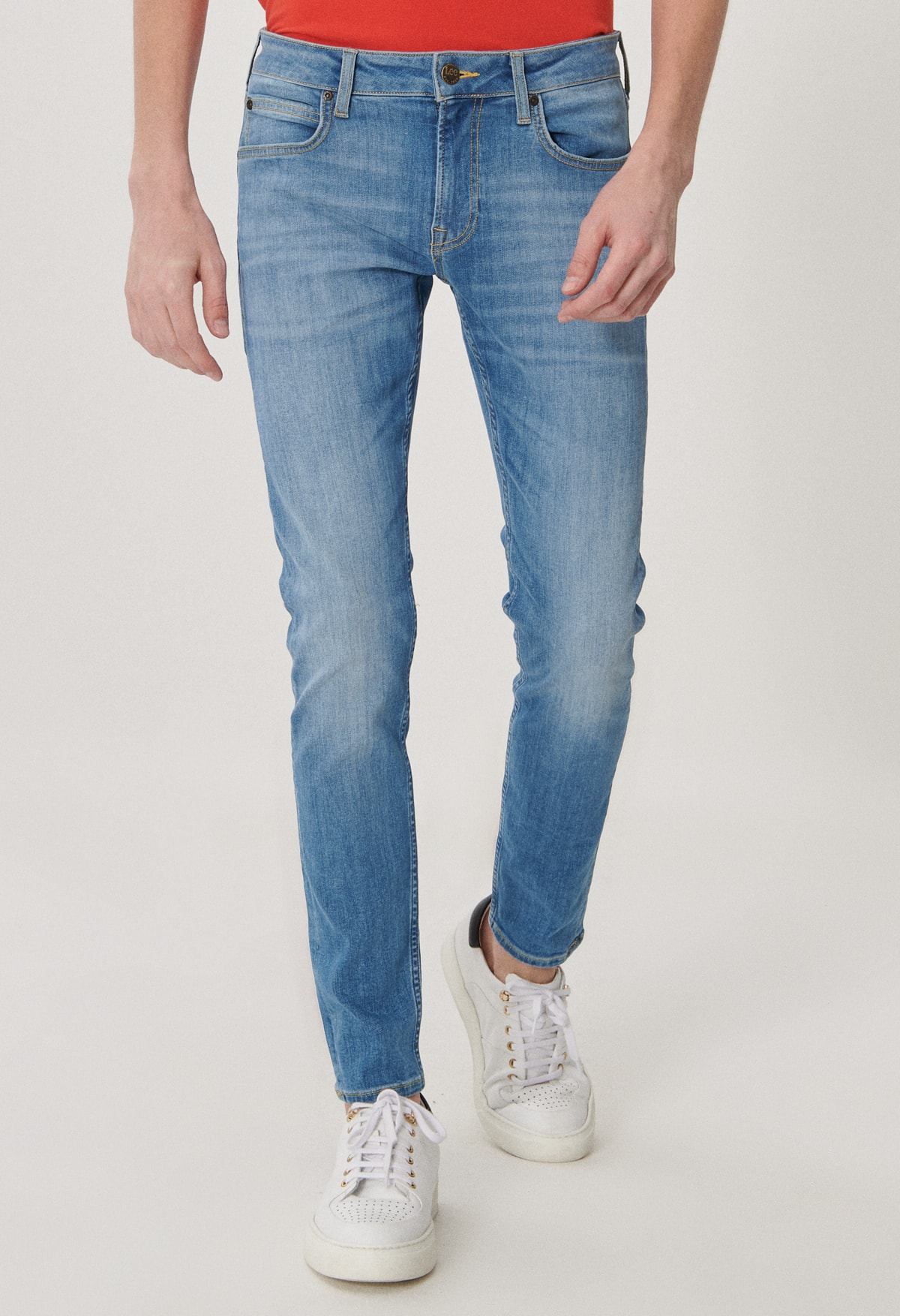 تصویر حرید اینترنتی شلوار جین مردانه ارزان برند Lee رنگ آبی کد ty91069081
