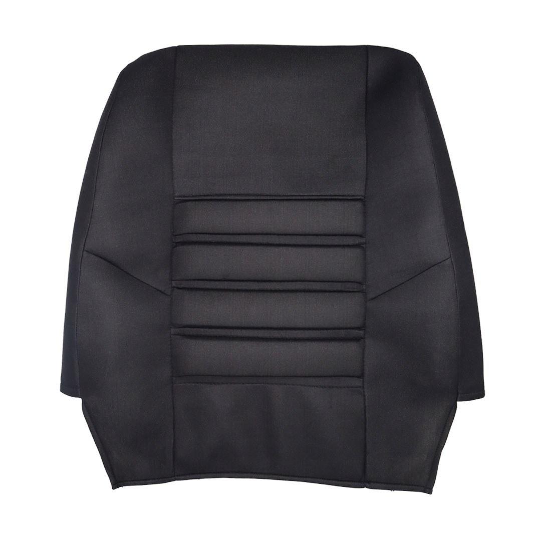 تصویر روکش صندلی ارزان پراید صبا | طرح فراری | کد R14 pride saba seat cover | Ferrari plan | Code R14