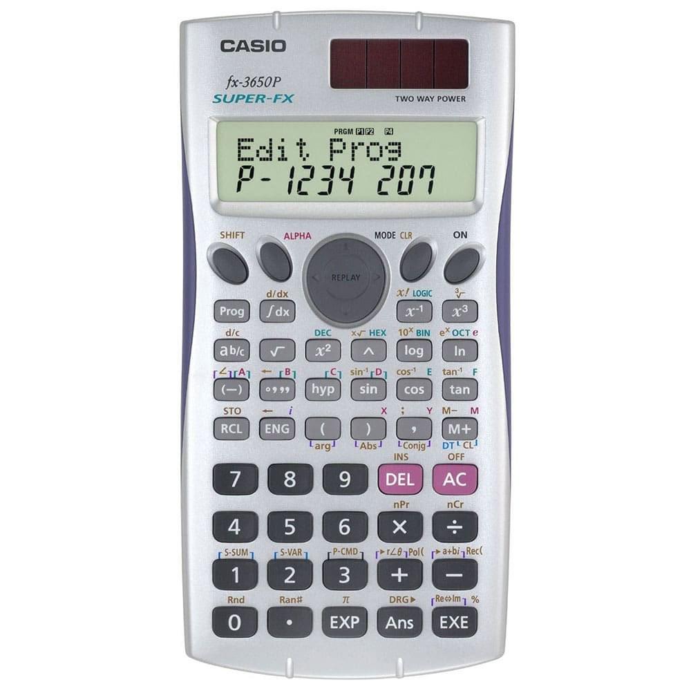 تصویر ماشین حساب کاسیو (CASIO) مدل FX - 3650 مهندسی