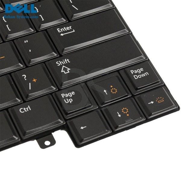 تصویر کیبورد لپ تاپ Dell مدل Latitude E6430 ا به همراه لیبل کیبورد فارسی جدا گانه به همراه لیبل کیبورد فارسی جدا گانه