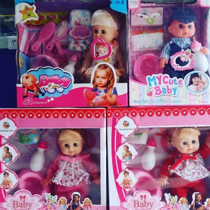 عکس عروسک بی بی برن  عروسک-بی-بی-برن