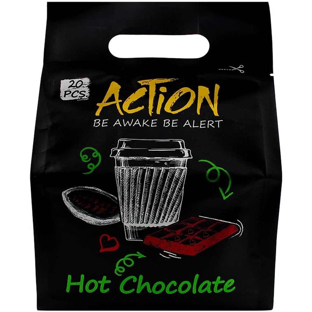 تصویر پودر شکلات داغ اکشن 20 عددی -