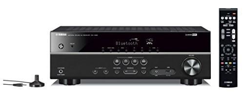 رسیور مجهز به بلوتوث مدل  RX-V383BL 5.1-Channel 4K Ultra HD AV محصول برند Yamaha . |