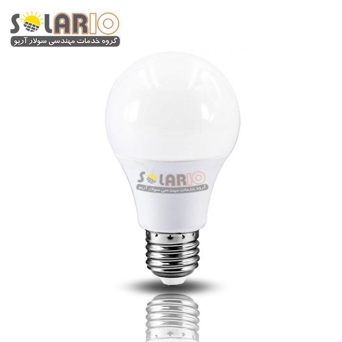 تصویر لامپ LED کم مصرف DC خورشیدی 9وات 12ولت