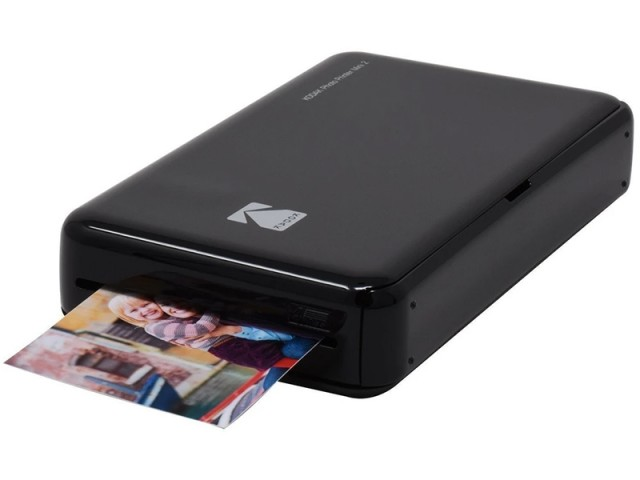 تصویر پرینتر قابل حمل چاپ سریع عکس کداک مدل Mini 2 Instant Photo Printer بهمراه کاغذ چاپ عکس 8 عددی