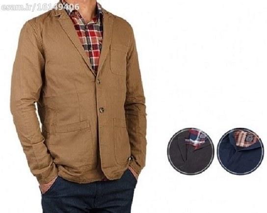 کت تک مردانه سایز 46 | آکبند و در رنگ قهوه ای موجود است