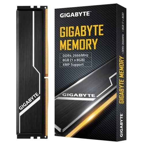 تصویر رم دسکتاپ DDR4 گیگابایت تک کاناله 2666مگاهرتز ظرفیت CL 16GIGABYTE 8GB ا RAM GIGABYTE 2666 8GB RAM GIGABYTE 2666 8GB