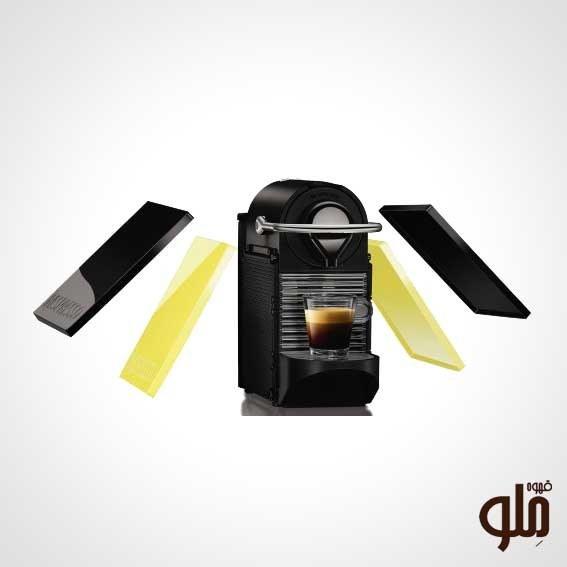 تصویر دستگاه قهوه ساز نسپرسو مدل PIXIE Clips(لیمویی)