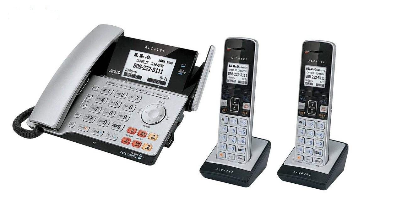 تصویر تلفن آلکاتل مدل کمبو ۲۱۲۰ Alcatel XPS2120 Combo Phone
