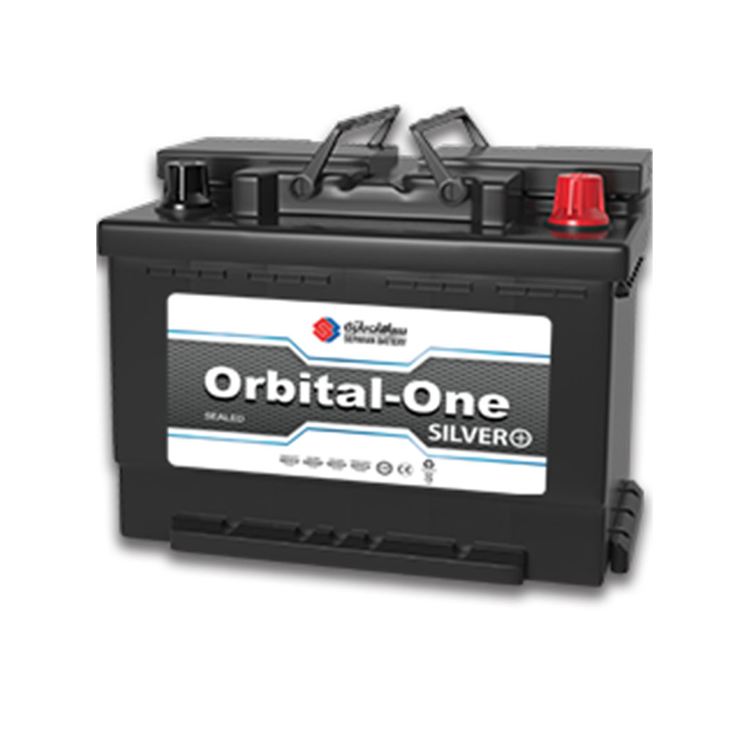 تصویر باتری  74 آمپر اوربیتال وان سیلور
