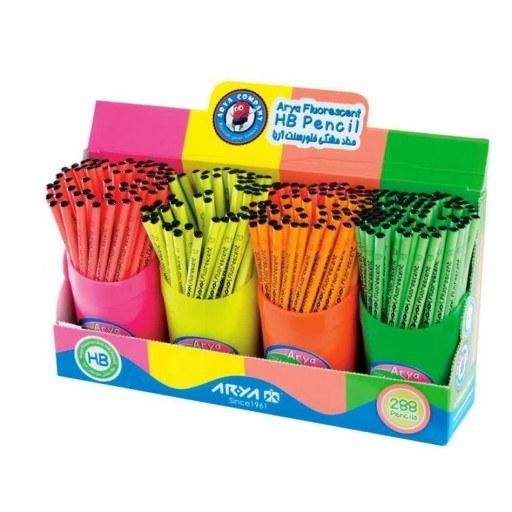 مداد سیاه فسفری طرح آریا ایرانی | مداد سیاه طرح فسفری آریا