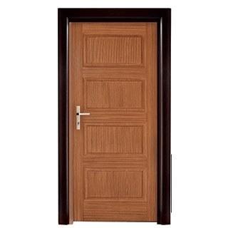 تصویر درب HDF اتاق خام  کد 399 | درب اتاقی چهار قاب
