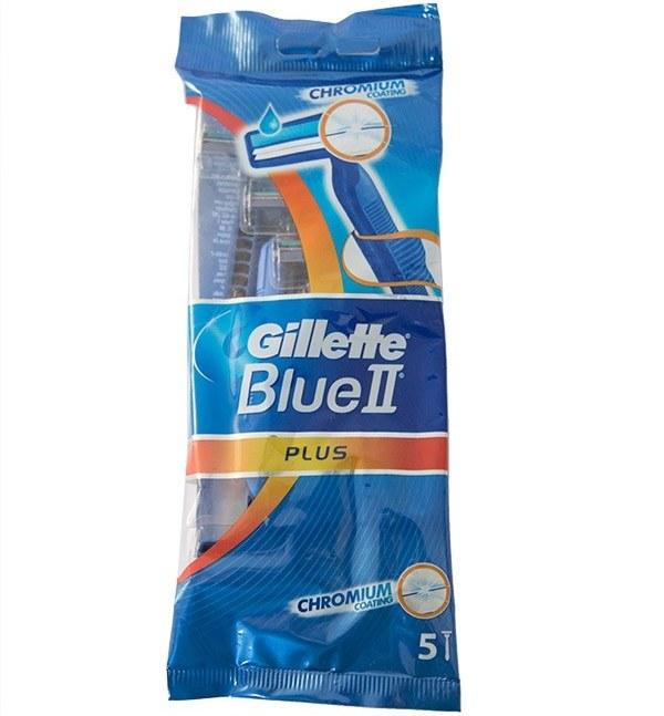 خود تراش ژیلت مدل Blue 2 بسته 5 عددی