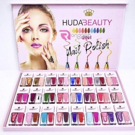 تصویر پک لاک دو قلو 24 عددی هدی بیوتی Huda Beauty