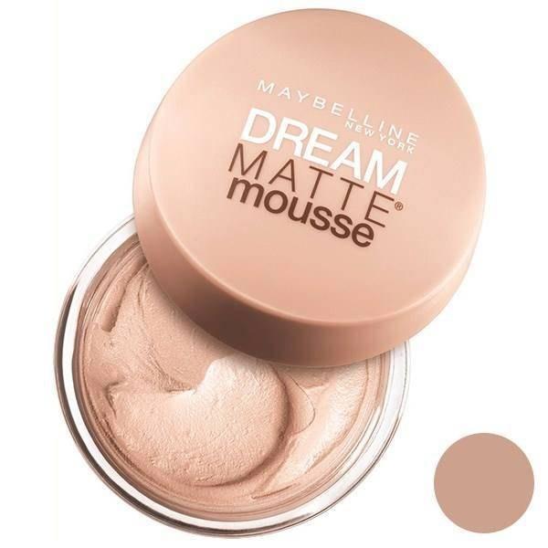تصویر موس میبلین مدل Dream Matte Mousse Sand 30