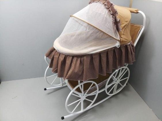 تخت و گهواره کودک مدل کالسکه ای |