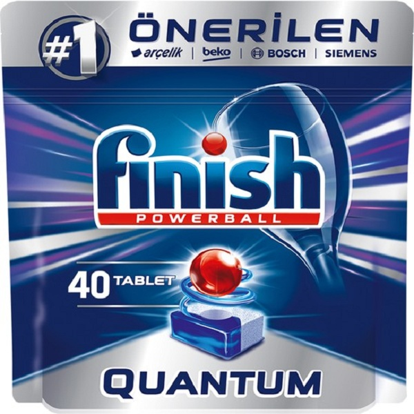 تصویر قرص ماشین ظرفشویی فینیش کوانتوم 40 عددی Finish 40Tablet Finish Quantum Dishwasher 40 Tablet