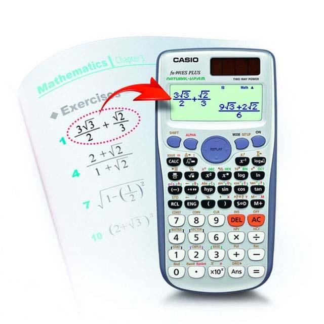تصویر ماشین حساب کاسیو FX-991 ES PLUS Casio FX-991 ES PLUS Calculator