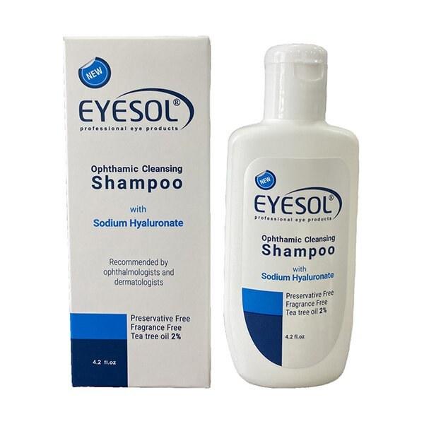 تصویر شامپو شستشوی پلک و مژه آیسول Eyesol-Ophthalmic-Cleansing-Shampoo