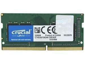 حافظه رم لپ تاپ کروشیال مدل Crucial 16GB DDR4 2666Mhz