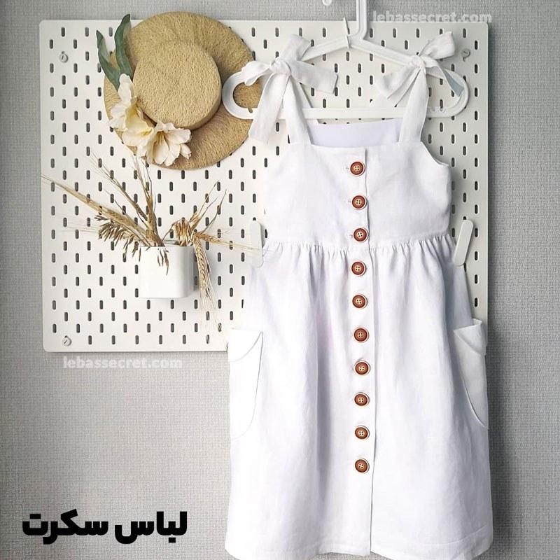 تصویر لباس خواب نخی دخترانه1206