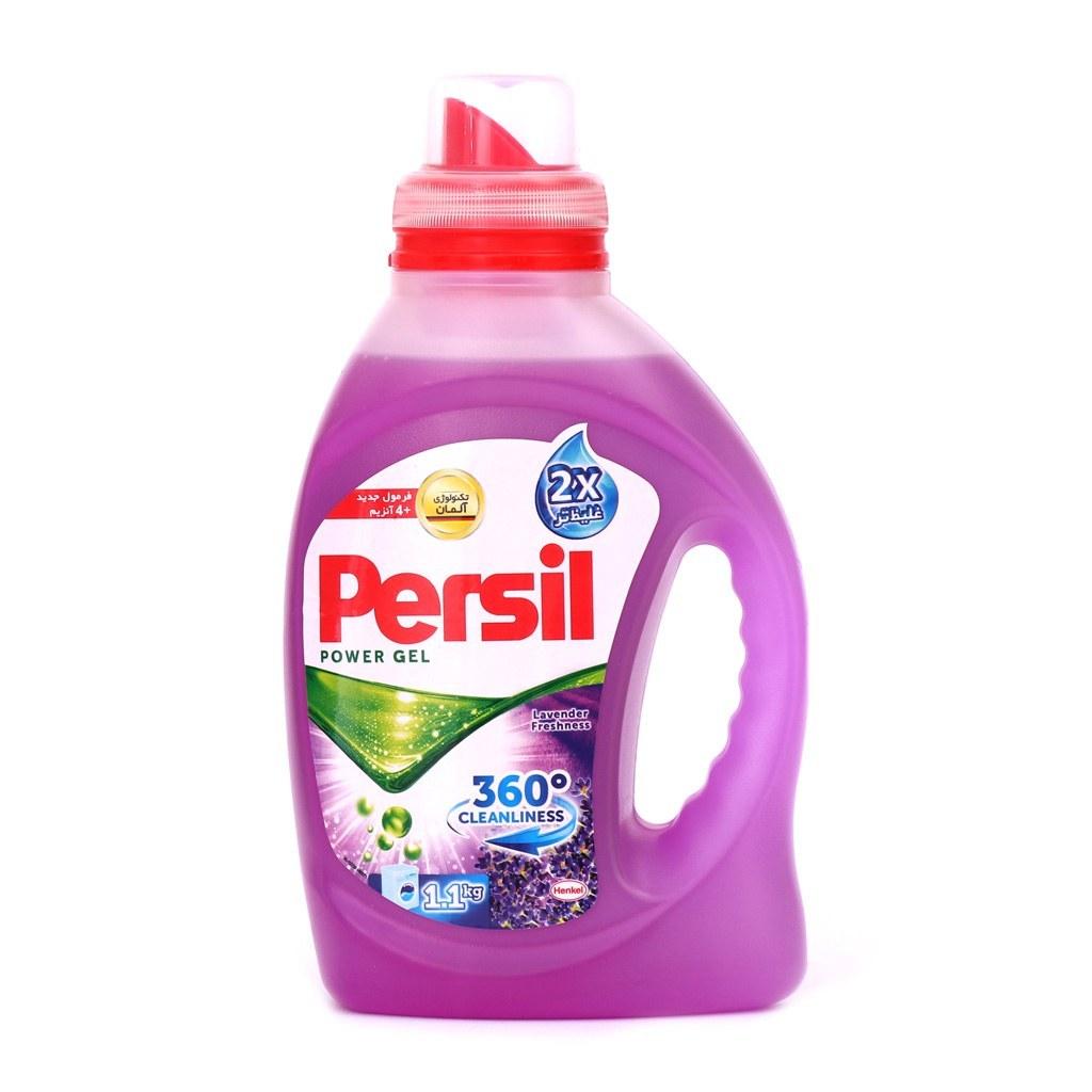 مایع ماشین لباسشویی پرسیل مدل 360 Cleanliness مقدار 1.1 کیلوگرم | Persil 360 Cleanliness Washing Machine Power Gel 1.1 KG