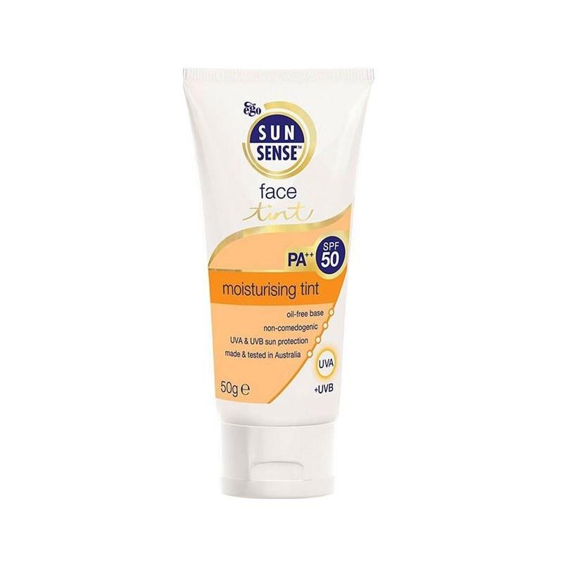 تصویر ضد آفتاب سان سنس تینت SPF50 ایگو SS Face Tint SPF50 EGO