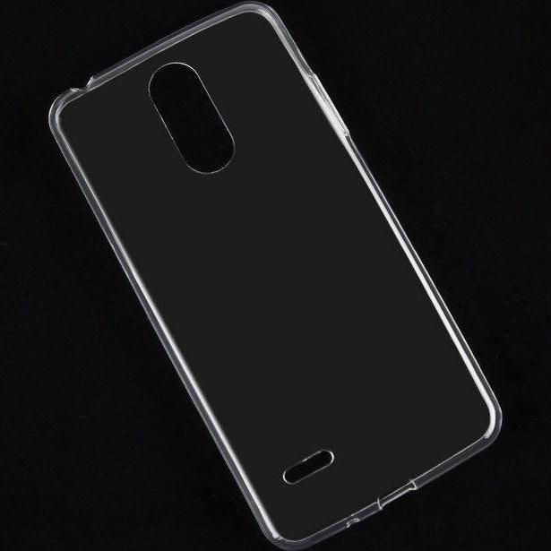 تصویر محافظ قاب ژله ای شفاف گوشی موبایل LG K8 2017