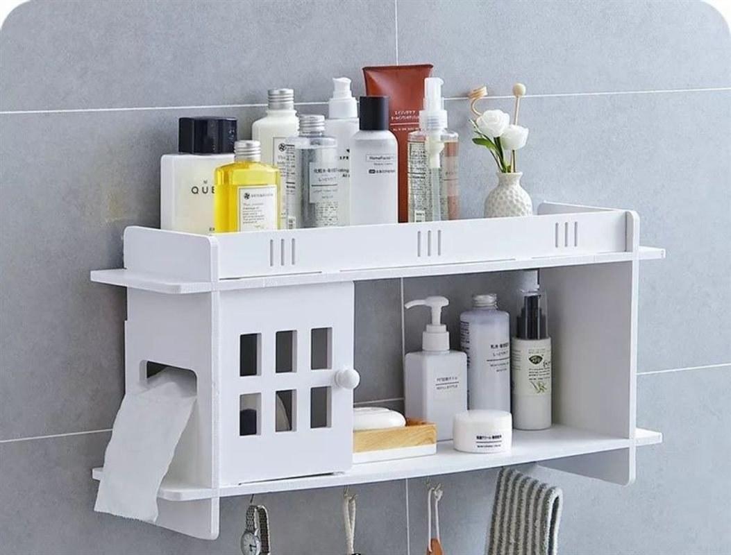 تصویر شلف کاربردی حمام
