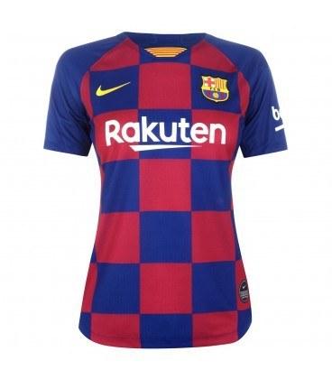 پیراهن زنانه ورزشی تیم بارسلونا Barcelona 2019-20 Home Women Soccer Jersey