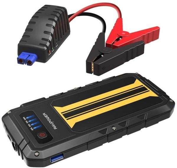 main images جامپ استارتر و شارژر همراه RavPower مدل  PB007 با ظرفیت ۸۰۰۰ میلی آمپر