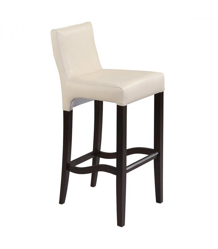صندلی کانتر جهانتاب سرنا با روکش چرمی