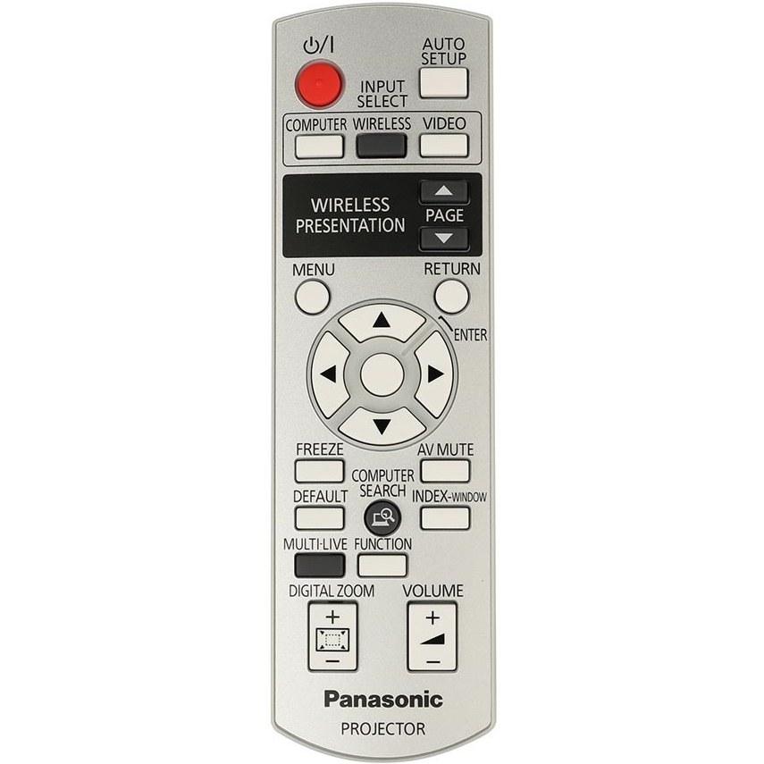 تصویر کنترل ویدئو پروژکتور پاناسونیک مدل N2QAYB000260
