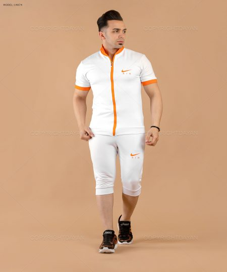 تصویر ست سویشرت و شلوارک مردانه Nike مدل  14074