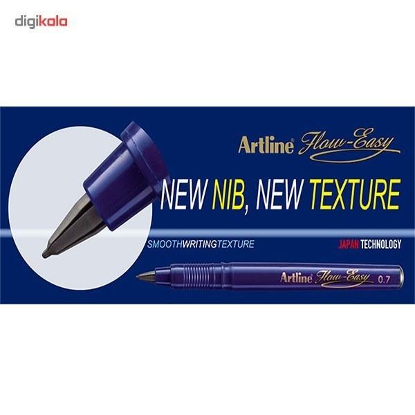 img روان نويس آرت لاين نويسا آبي Artline Flow Easy Blue Marker