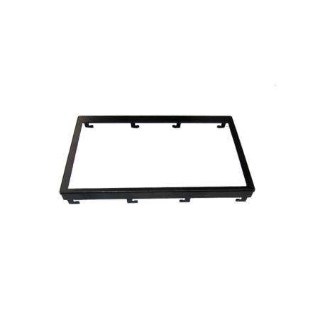 تصویر فریم فلزی 4.3 اینچ مشکی استاندارد- 4.3inch