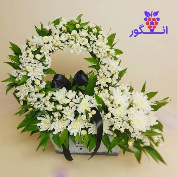 تصویر باکس گل تسلیت