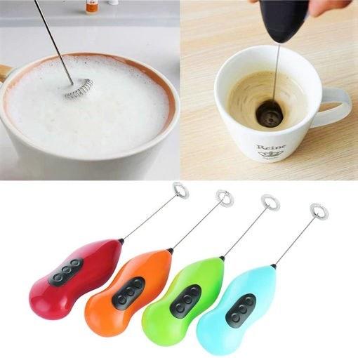 تصویر همزن کف ساز شارژی Hong xin مدل frulla latte