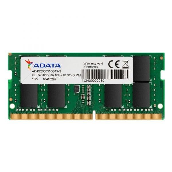 تصویر رم لپ تاپی ای دیتا 16 گیگابایت Premier DDR4 2666