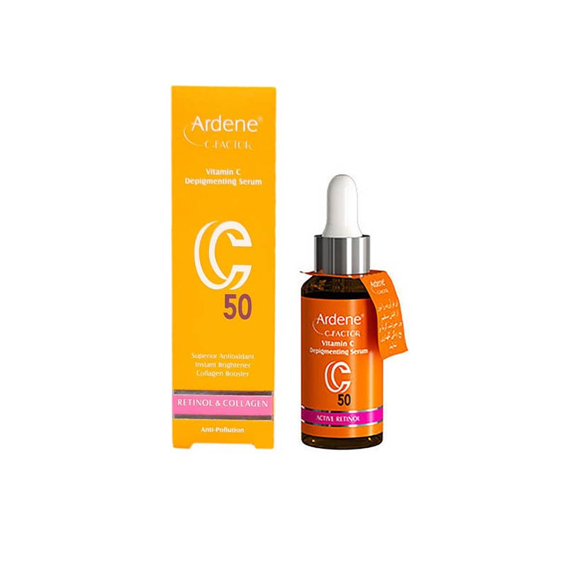 تصویر سرم ویتامین سی آردن  | روشن کننده و ضد لک حاوی ویتامین C50