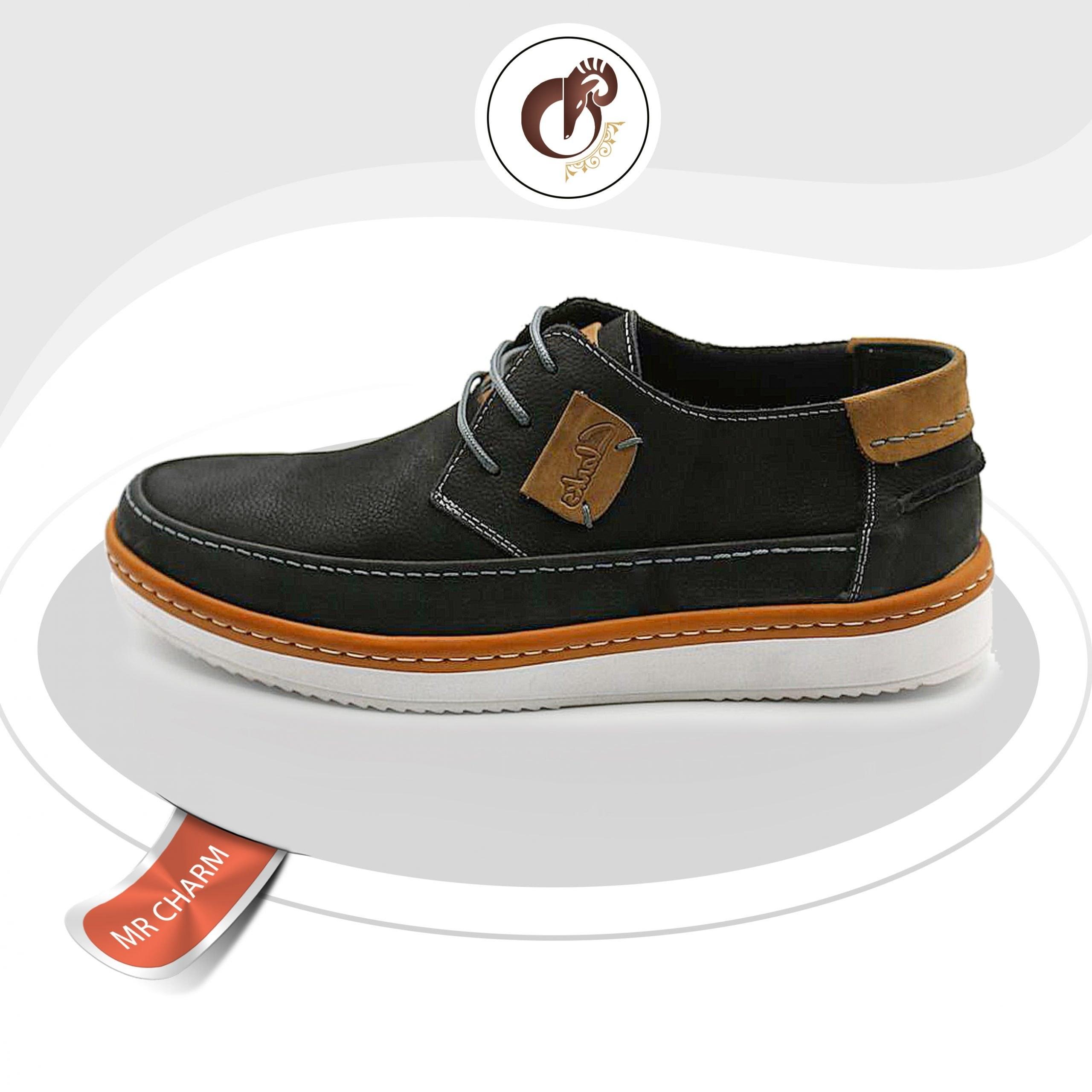 عکس کفش چرم اسپرت مردانه  کفش-چرم-اسپرت-مردانه