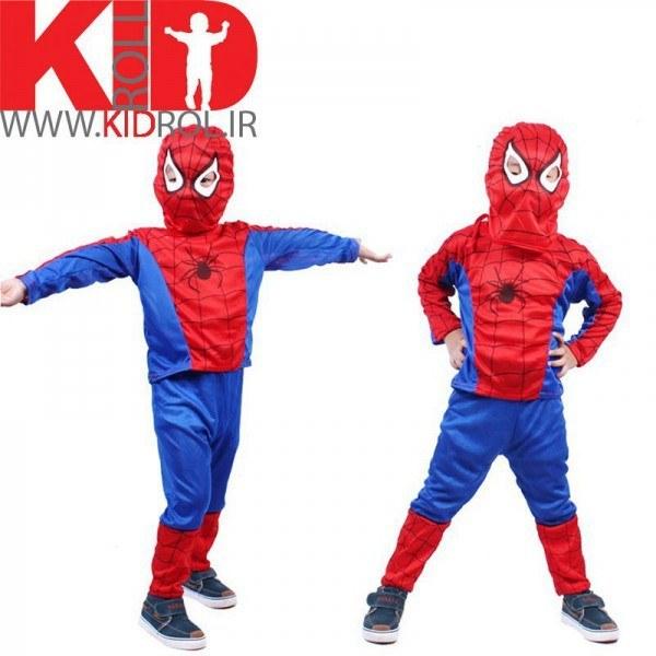 لباس مرد عنکبوتی بچه گانه