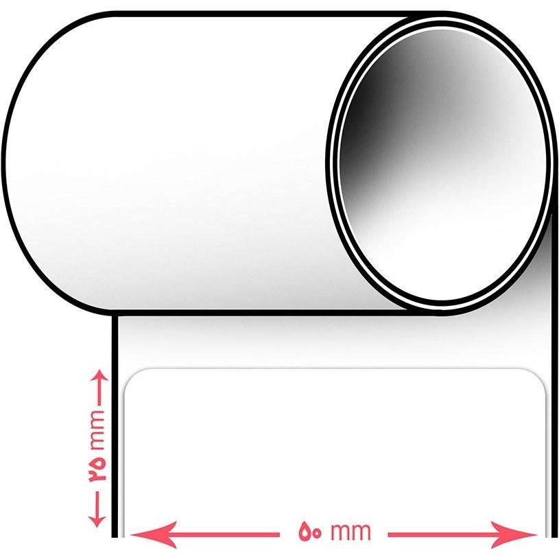 main images لیبل پرینتر سایز 50 * 25 (یک ردیفه) Label 25*50 Printer