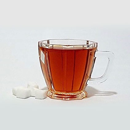 تصویر فنجان چای خوری کریستال استیج